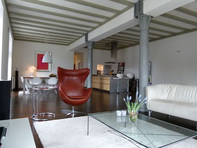 Amazing spacious warehouse in city centre! - Amsterdam - Apartment