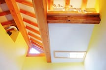 room ceilling - sky window