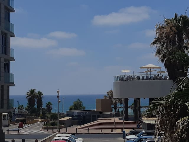 wonderful location BEN YEHUDA ST a view to the sea