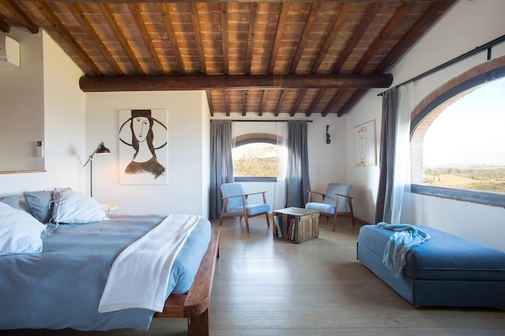 Stunning and spacious apartment in Chianti area - Monsanto I - アパート