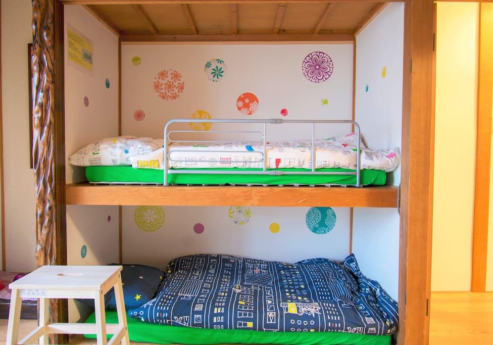 小朋友專用的多拉a夢壁櫥房