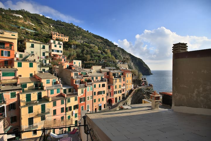 5 Sensi di Mare- Harbour apartment with terrace - Riomaggiore - Apartamento