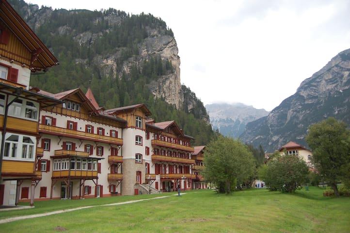 Appartamento tra Cortina e Dobbiaco per 6 persone