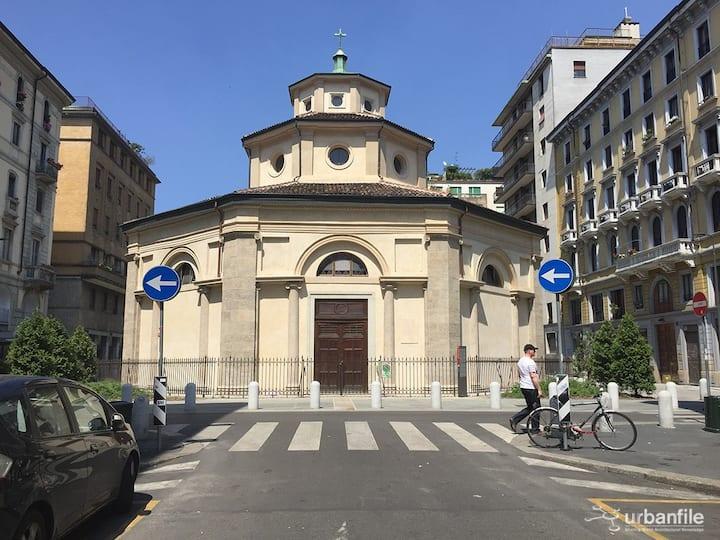 Porta Venezia -Babila::: Blue Apartment