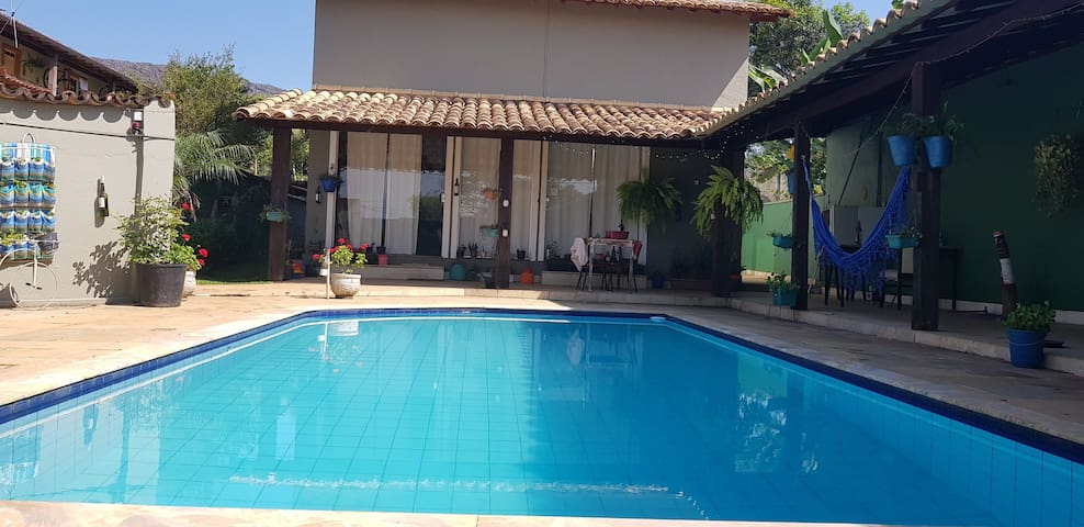 La Tartuferia casa com piscina