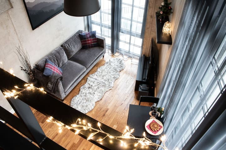 Holiday Loft Near Tallinn Bus Station & Airport