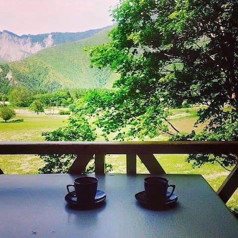 Borjomi-Tsemi home with an amazing view