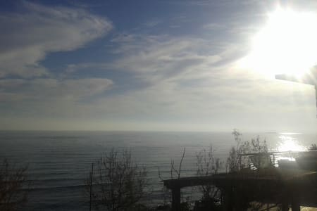 huge balcony on the sea fantastic view - Kerkira