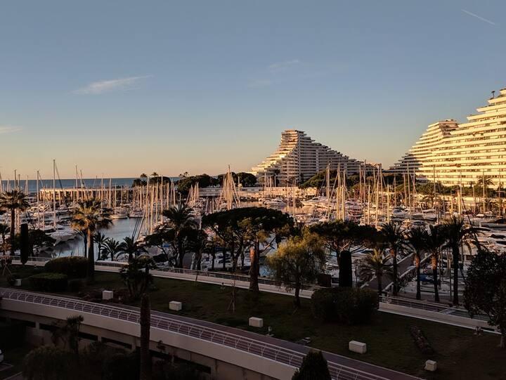 Luxurious Seaside Apartment Between Nice & Antibes