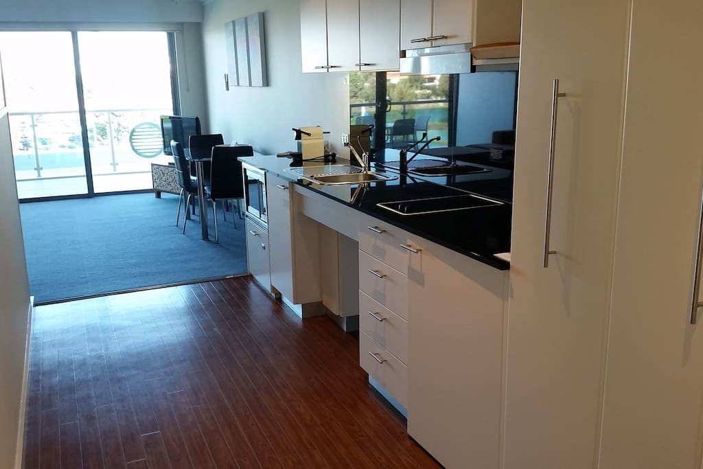 Entry and Fully self contained kitchen