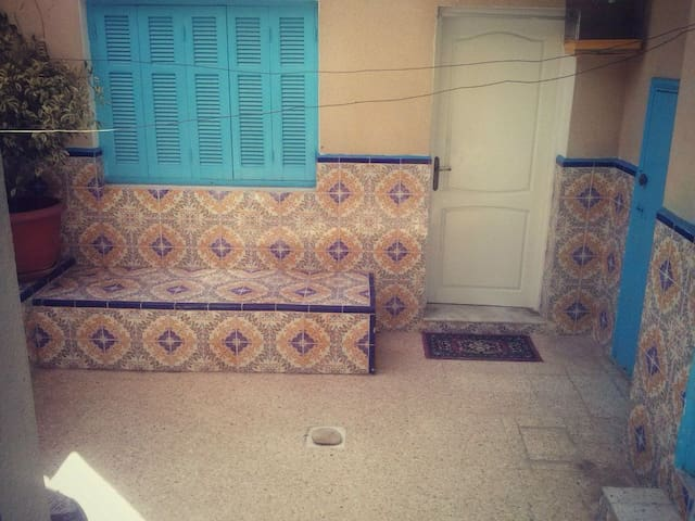 Maison style am ricaine hammamet case in affitto a hammamet tunisia - Maison al americaine ...