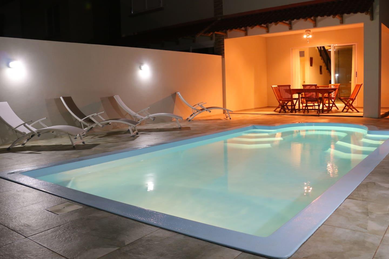 Villa duplex with its private swimming pool