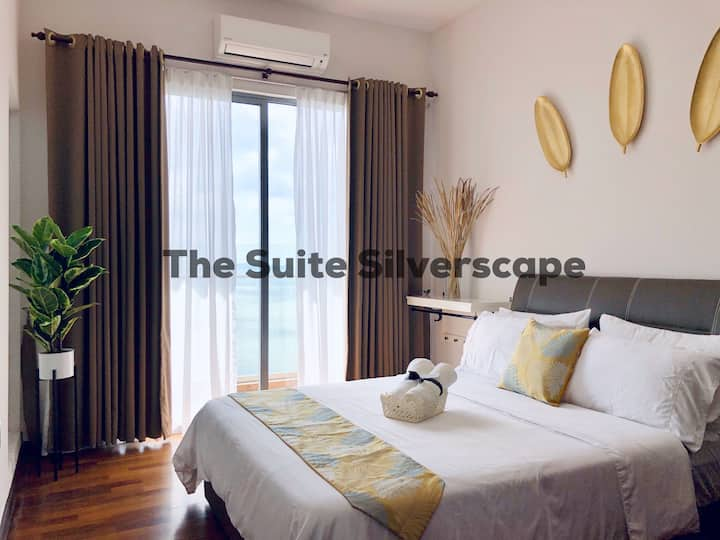 The Suite Silverscape, SeaView, FREEWifi, 6pax
