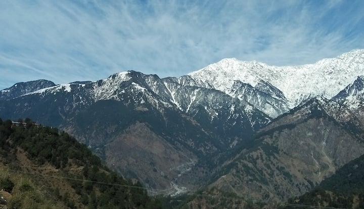 A2 Amazing Dhauladhar Mountain View / Snow View