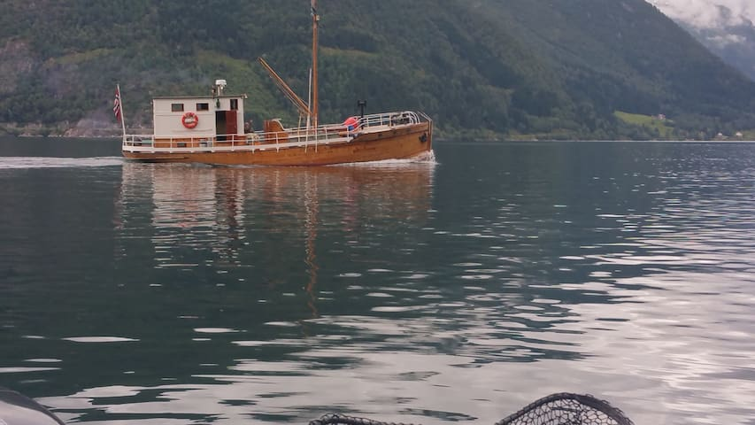 Leilighet for fjord og fjellturer.
