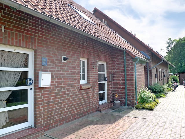 3-room terraced house Reihenhaus Koch in Norddeich - Norddeich - Townhouse