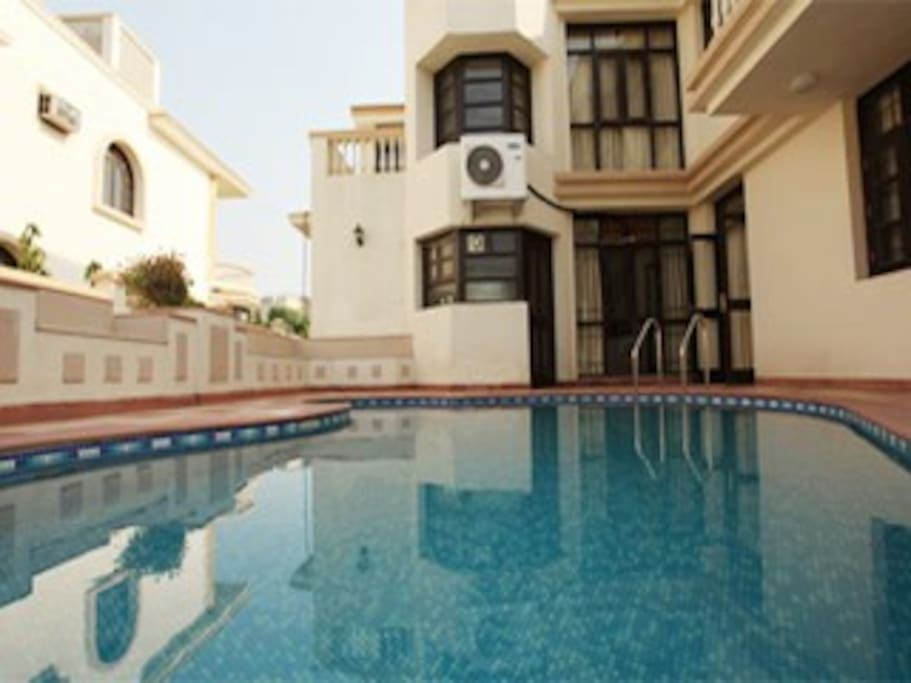 5bhk With Swimming Pool For Parties Houses For Rent In Gurgaon Haryana India