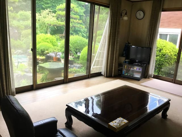【2F】Japanese garden house/6people can stay