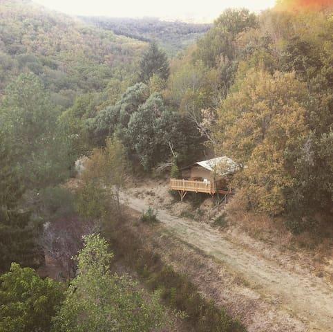 Lodge en pleine nature