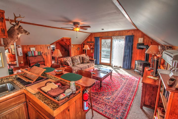 JAY PEAK: Free Breakfast - Trout River Suite @ Safe, Inspected, REAL B&B