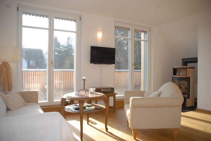 3-Zimmer Wohnung im Passivhaus mit toller Aussicht
