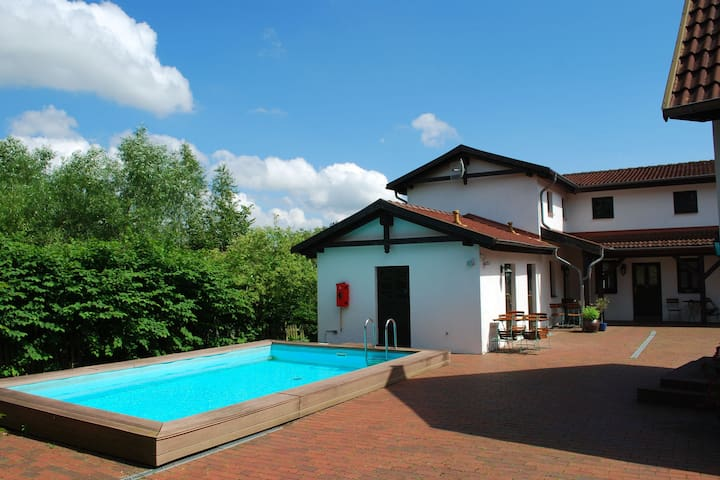 Quaint Apartment with Swimming pool in Mecklenburg