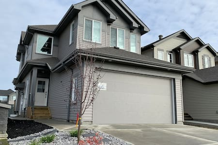 Luxury Brand new home near Henday close 2 airport.