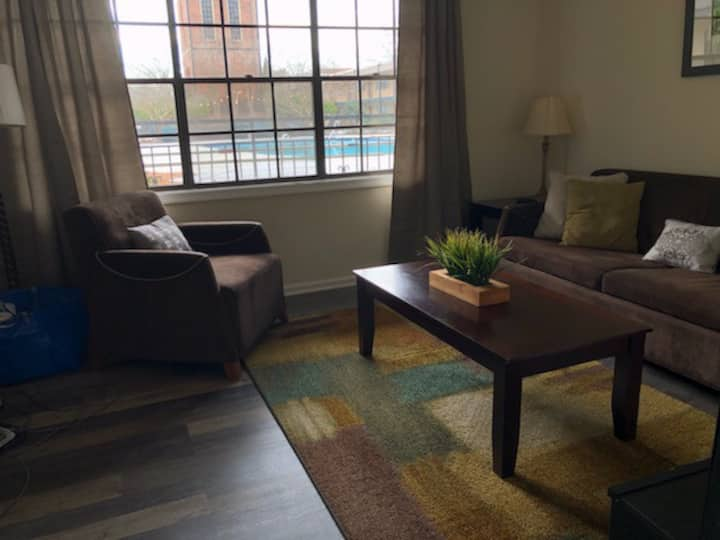Downtown Durham Condo with pool