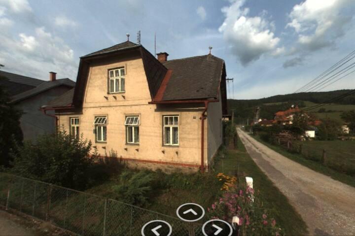 Starý dům se zahradou Ruda nad Moravou/Bohutín