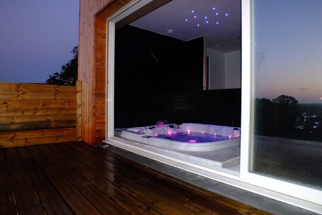 Terrasses saint michel chalets louer soug al for Chambre avec jacuzzi privatif normandie