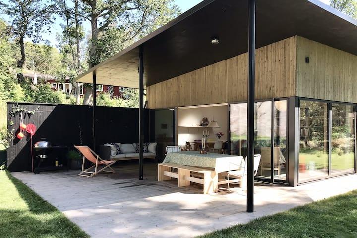 Modern house - Swedish west coast archipelago