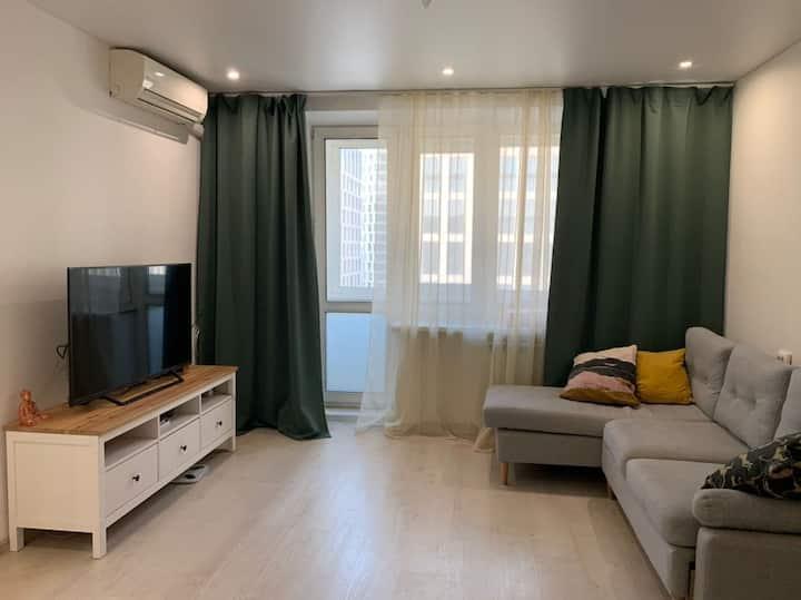 Cozy White Apartment at Dinamo