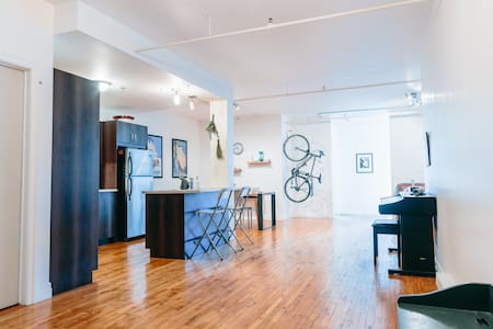 St-Henri Loft on the edge of Montreal's Downtown - Montreal