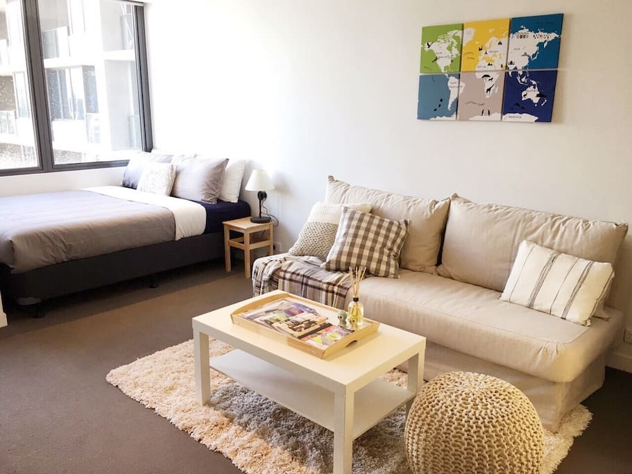 Cottage style studio in mel cbd flats for rent in for Cottage style homes melbourne