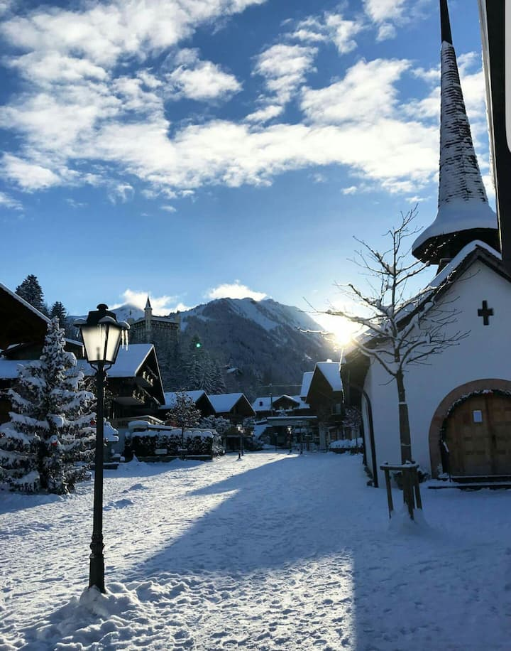 Gstaad city Flat (Chalet)