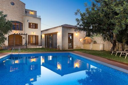 Villa Saridakis, a true mansion! - Rethymno