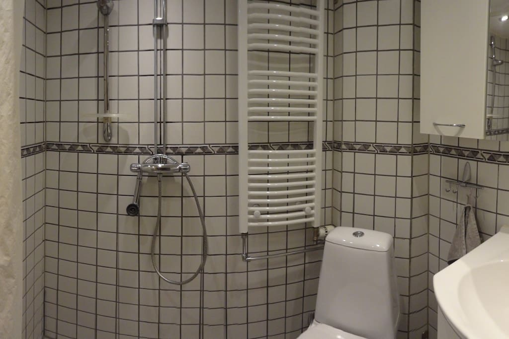 WC with shower