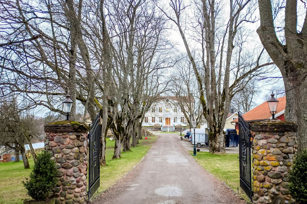 The best Airbnb in Stockholm. Literally live in your own century old castle.