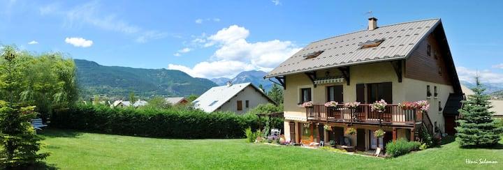 Chalet au cœur des Hautes-Alpes