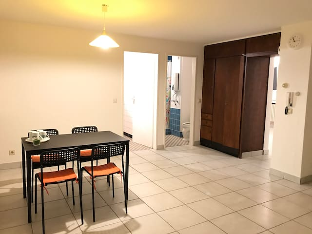 Perfect apartment with 2 bedrooms in the city