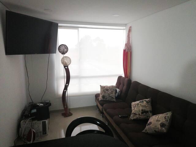 Apartamento ubicado en el norte de Bogotá