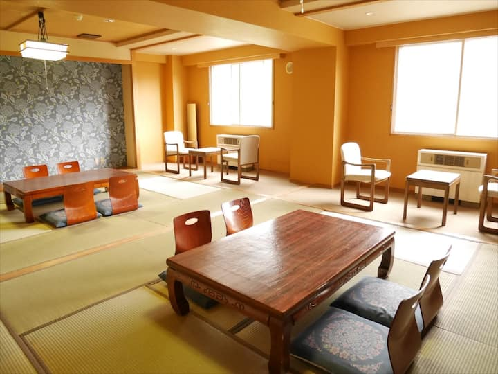 Group Room - Mountain View & 100% Natural Onsen