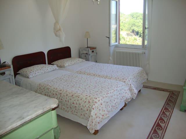 Camera doppia con bagno en suite ( 2 letti di 90 x 200 cm)