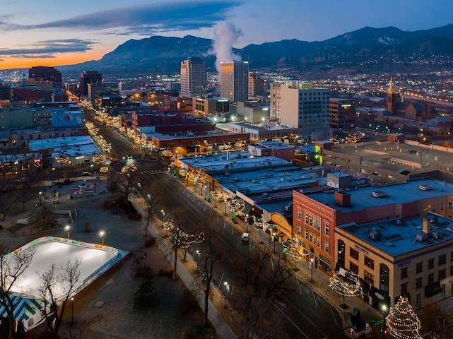 Downtown Colorado Springs offers a variety of shopping, dining, museums, parks, festivals and events.