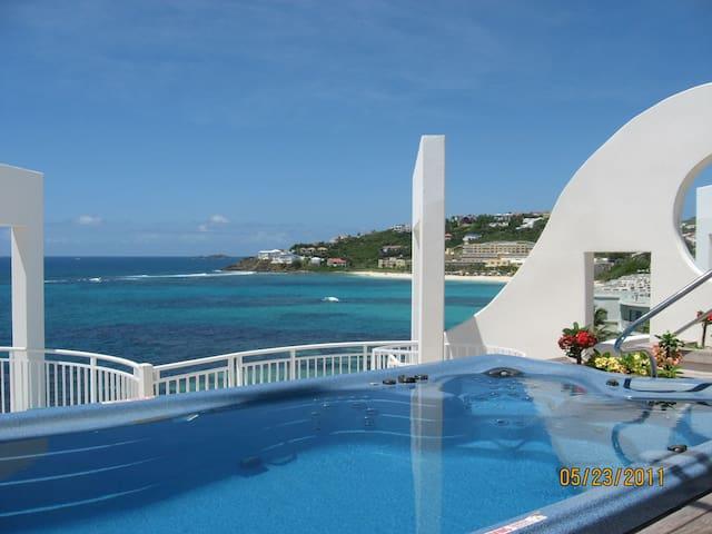 PRIVATE Rooftop Pool on St. Maarten Dawn Beach