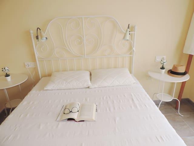 Bonita y luminosa habitación matrimonio