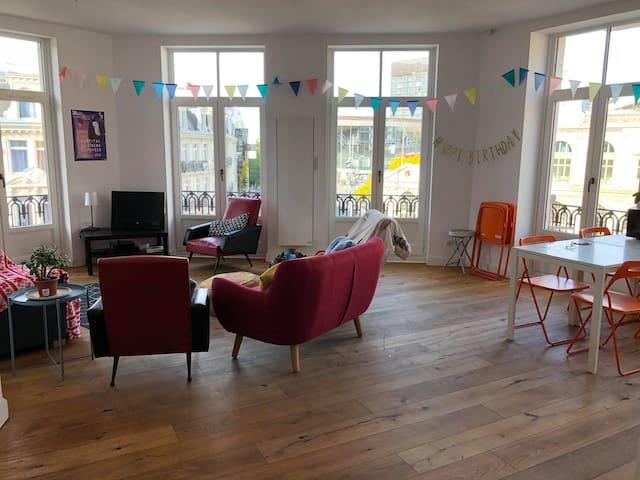 Lille: appartement très lumineux avec vue