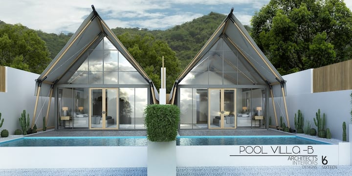 Exclusive Private - Nordic Tent By The X10 เขาใหญ่