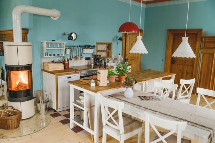 Landhaus Alte Wasserschänke - Pegau - Casa de vacaciones