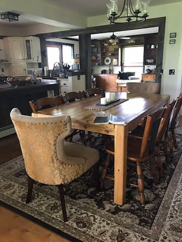 RENOVATED FARM HOUSE ! 154 ACRES NEAR COOPERSTOWN